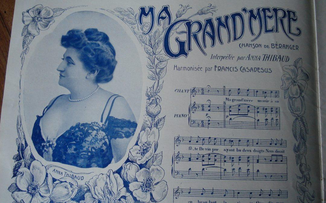 Anna Thibaud, chanteuse (Saint-Aubin1861- Paris1948)