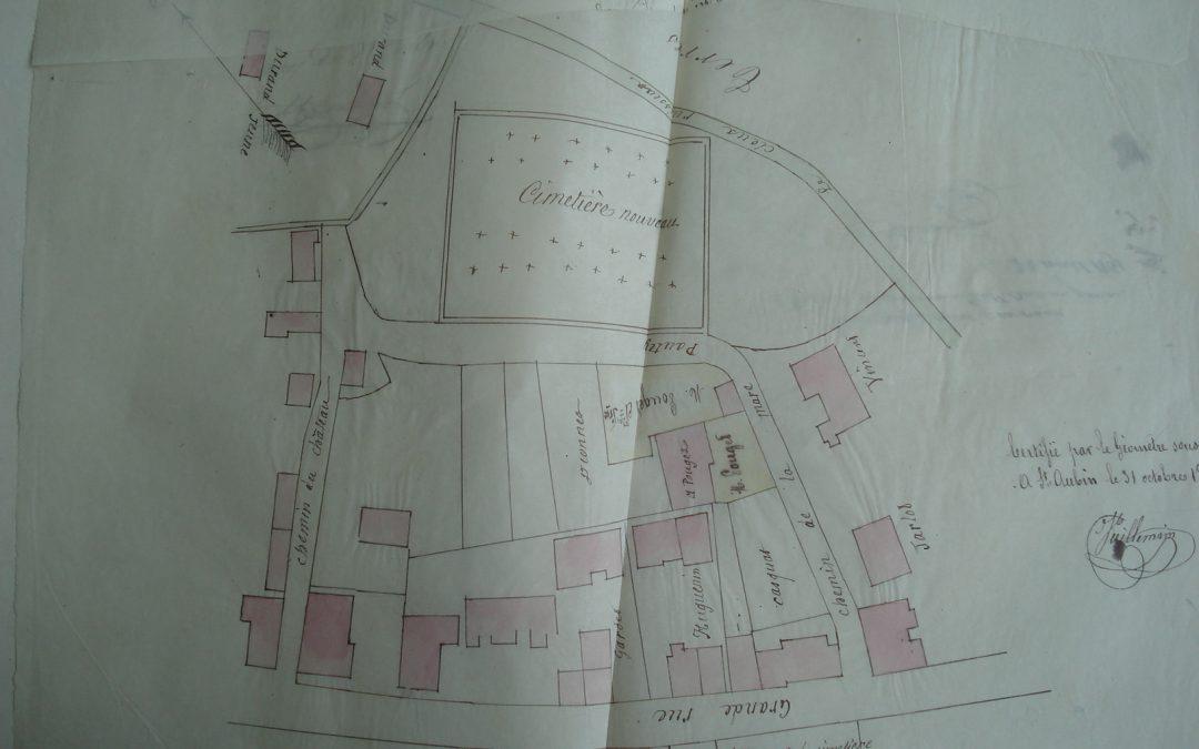 Sept incendies à Saint Aubin en 30 ans, de 1804 à 1834